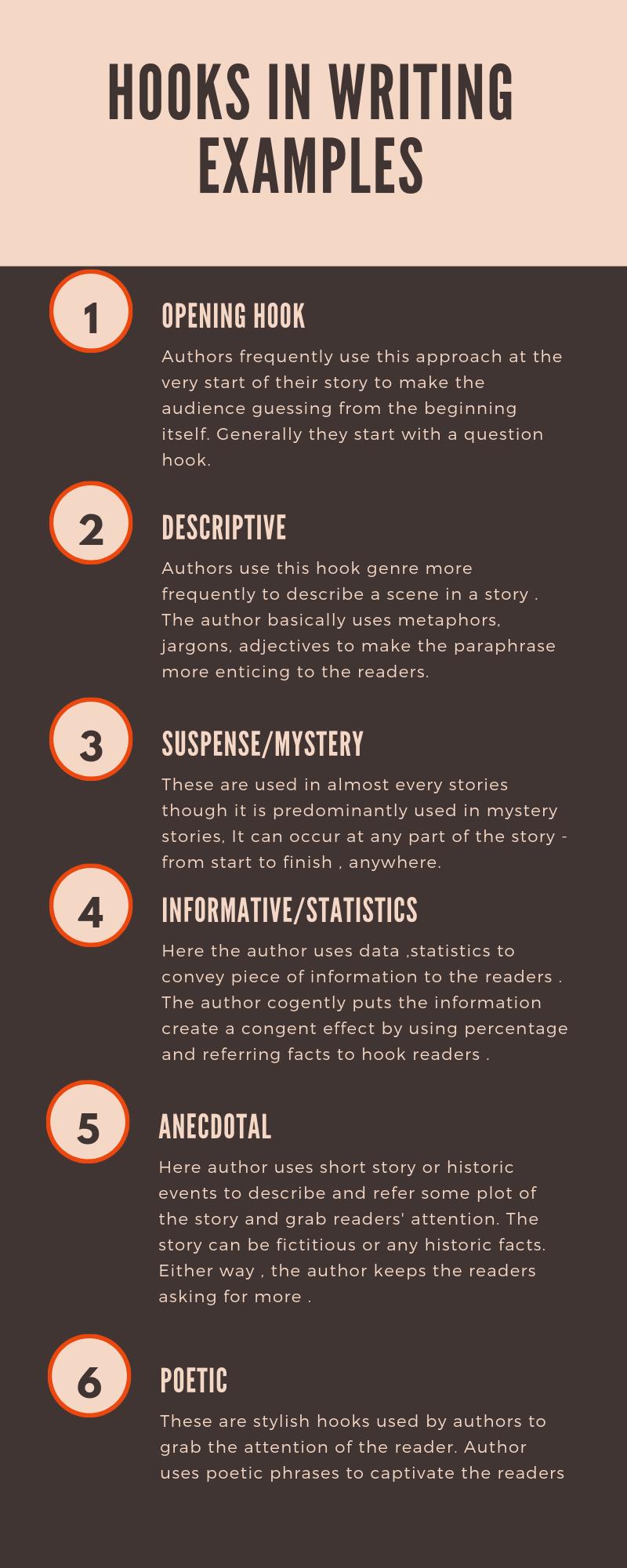 Ways To Hook Readers – Examples